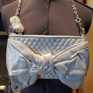 Juicy Couture Silver Bow Purse